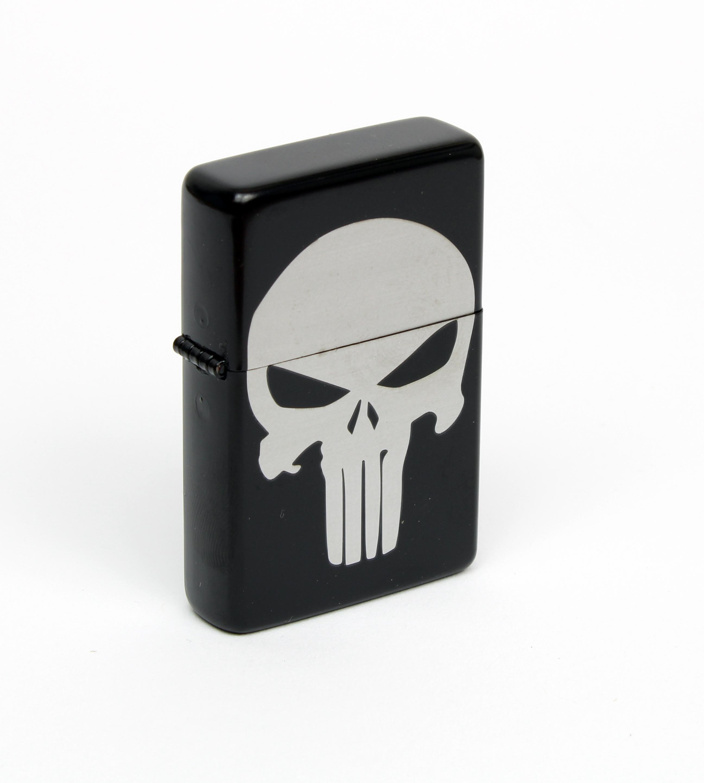 Benzin Sturmfeuerzeug Punisher