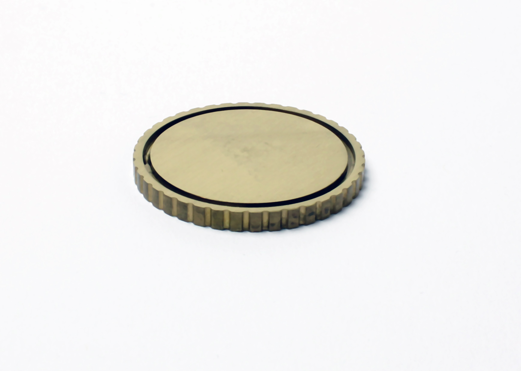 Münze aus Messing 40mm x 3mm