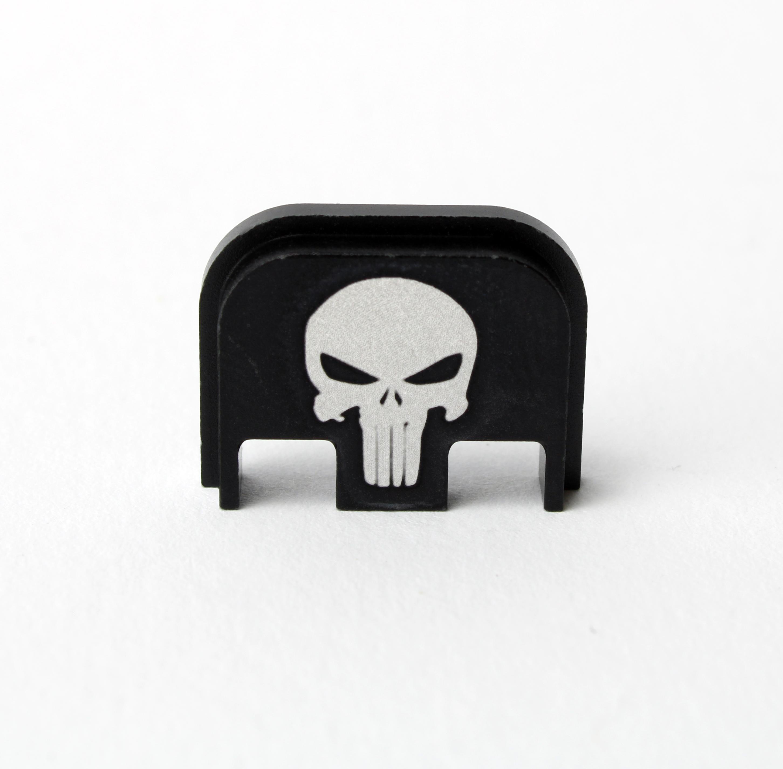 """Glock Backplate """"Punisher"""" Gen. 1-5"""