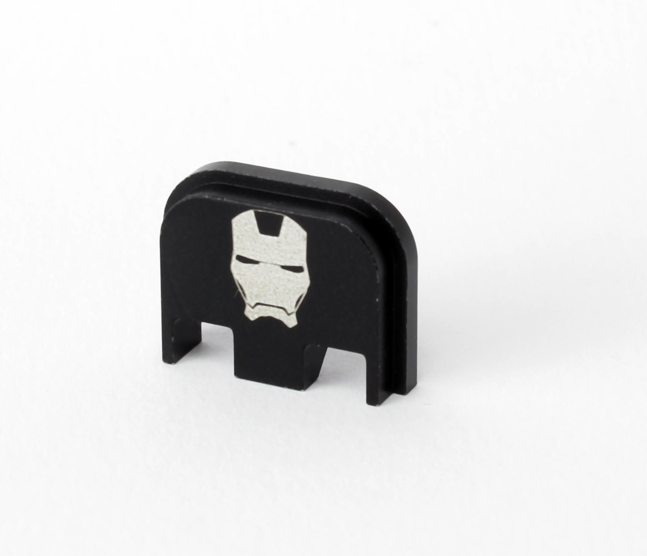 Glock Backplate Iron Man Gen. 1-5
